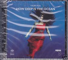 """Yamina - How Deep Is The Ocean"" Opus 3 Records Hybrid Stereo SACD CD New Opus3"