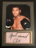 Muhammad Ali D. Gordon Portrait ACEO Promo Card with Facsimile Autograph