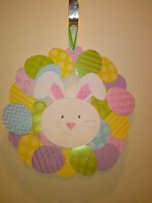 Easter Egg and Bunny Wreath Hanging Decoration