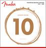 Fender Phosphor Bronze Acoustic Guitar Strings, Ball End, 60XL .010-.048 Gauges