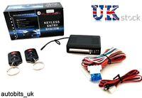 Universal Remote Central Locking Upgrade Kit Keyless Entry +2 Fobs LED flash NEW