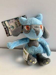 """Riolu Pokemon Plush Diamond & Pearl 6"""" Jakks Pacific Rare 2007 NWT"""