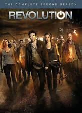 Revolution: The Complete Second Season (DVD 5-Disc Set) Brand New FREE SHIPPING