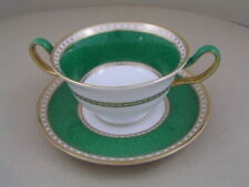 Unboxed Saucer Green Wedgwood Porcelain & China