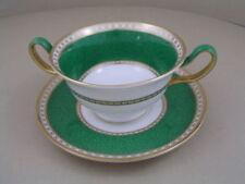 Green Saucer Wedgwood Porcelain & China