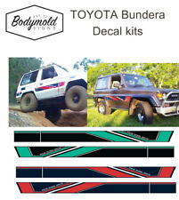 Toyota Bundera Striping/Graphic kit