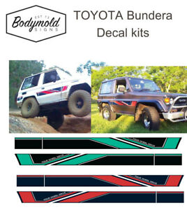 Toyota Bundera Striping/Graphic kit