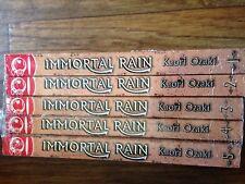 Immortal Rain 1-5 Manga book lot sci-fi fantasy Ozaki Tokyopop used English