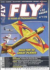 FLY N°175 PLAN : BIG DADDDY / REACTOR 46 / 2.4 GHZ DUAL FHSS GRAUPNER-WEATRONIC