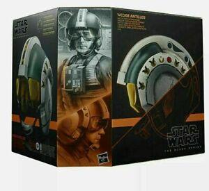 Star Wars Episode IV Black Series Electronic Wedge Antilles Battle Helmet Hasbro