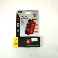 Topeak REDLITE™ AERO USB TMS074 Slim Aerodynamic Tail Light 3 Bright Red LEDs