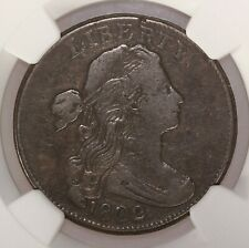 1802 Draped Bust 1C 1/000 S-228 NGC Certified F12 BN