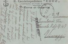 A8981) WW1 MARINA, FRANCHIGIA DEL REGIO CACCIATORPEDINIERE EURO.