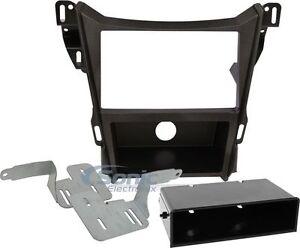Scosche GM5216B Single/Double DIN Dash Kit for 2010-Up Chevy Equinox/GMC Terrain
