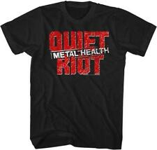 QUIET RIOT Heavy Metal Band Glam Rock Randy Rhoads Concert Tour Adult T-Shirt 6F
