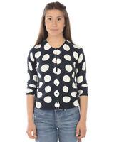 Cardigan Maglia Liu Jo Sweater Donna Blu M18081MA58G V9018