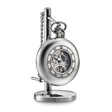 Dalvey Clock Skeletel Pocket Watch & Stand  - NEW DY-1593