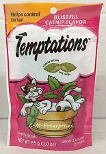 Whiskas Temptations Blissful Catnip Cat Treats 3 oz