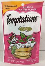 Whiskas Temptations Blissful Catnip Cat Treats 3 oz
