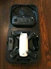 DJI Spark Drone Alpine White W/ Remote, Charging Station, 2 Batteries!