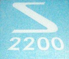 AUTOCOLLANT COIFFE  FILTRE A AIR / CAPOT (NEUF) – VELOSOLEX SOLEX 2200