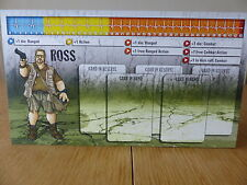 Zombicide - Ross - Character Dashboard Card (Card only)