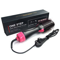 Negative Ion F102 Hot Air Hair Dryer Volumizer Blower Brush One Step Styling