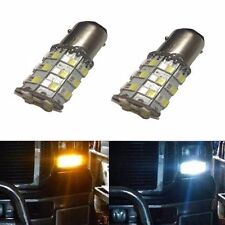 JDM ASTAR Bright 1157 BAY15D White/Amber Switchback AX-2835 60 SMD 12V LED Bulbs