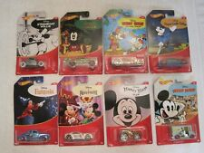 HOT WHEELS DISNEY MICKEY MOUSE SET OF 8--DIE-CAST 1:64 CARS--NEW