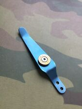 Fits Zero Tolerance 456 Sinkevich Models • Titanium Colt Pocket Clip • Blue