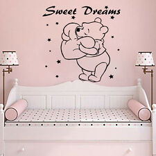 Winnie the Pooh Wall Art Vinyl Decals Home Decor Nursery Bedroom Stickers LM192