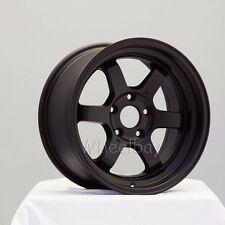 4  ROTA WHEEL GRID V 16X8  5X114.3 20 FLAT BLACK  CIVIC INTEGRA  LAST SET