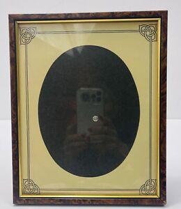 """Foframe Photo Frame England Vintsgr Brown Gold 10.5x8.5"""""""