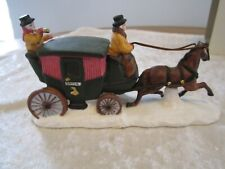 Dept 56 - Horse with Coach Heritage Village