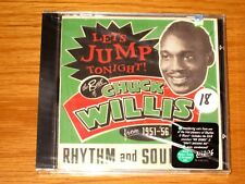 """Let's Jump Tonight! The Best of Chuck Willis: 1951-1956"" BRAND NEW R&B CD"
