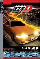 Initial D - Battle : Vol 8 S-14 (Silvia Q) Battles in the Rain (DVD, 2005) R4