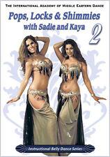 Pops, Locks & Shimmies #2 DVD - Sadie Kaya Belly Dance DVD