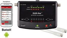 DUR-line SF 4000 BT SAT Finder Satfinder Satelliten Finder Bluetooth® SF4000