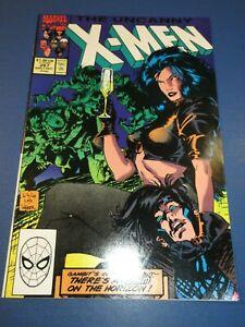 Uncanny X-men #267 Jim Lee 2nd Gambit Woe VF Beauty