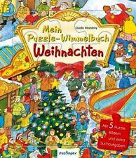 Mein Puzzle-Wimmelbuch ** Weihnachten ** 5 Puzzlebilder ** esslinger Verlag