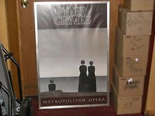 """Peter Grimes"" Met Opera Signed By Will Barnet and Peter Grimes w/ a Sharpie"