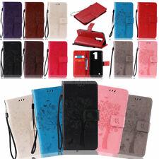 -ZHKT Embossing Leather Wallet Case Cover For LG G5 G4 G3 Mini K3 K5 K7 K8 K10