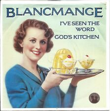 "BLANCMANGE - I'VE SEEN THE WORD / GOD'S KITCHEN - MINT- LONDON VINYL 7"""
