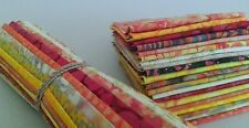"Batik Fabric - 40 - 10 "" Squares - Layer Cake - Sunny Days - Free AU Post"