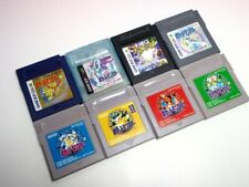 Lot GAMEBOY COLOR POKEMON  Gold Silver Crystal GB Blue Red  Green Yellow Japan