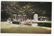 Lake Chautauqua Ny Bestor Plaza Post Office Vintage Postcard