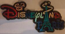 MAGNET / Aimant LOGO DLP TOUR EIFFEL / Eiffel Tower Disneyland Paris
