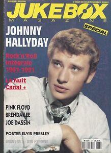 jukebox magazine n°71 juin 1993 /  johnny hallyday rock'n'roll intégrale 1961-91