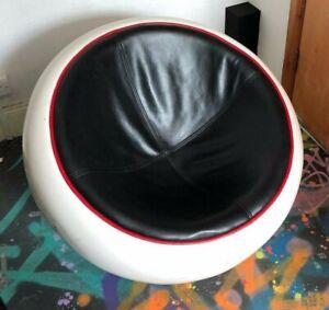 Original Mid Century Vintage Egg Pod Fibreglass Chair Eero Aarnio Space Age