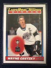 WAYNE GRETZKY (Byng Trophy)  1991-92 O-Pee-Chee #520  NM/MT+  Pack Fresh!